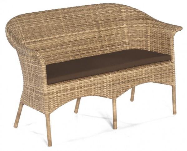 """Bank """"Cayman"""" 2-Sitzer natura-antik Loom von Sonnenpartner"""