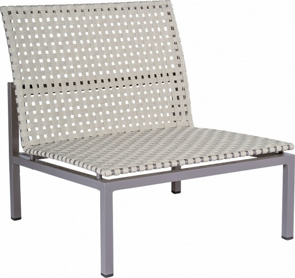 STERN Lounge-Mittelelement Lucy Aluminium taupe mit