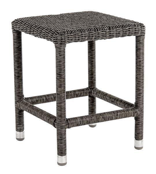Stern Tischgestell 160 x 90 cm Edelstahl Rundrohr