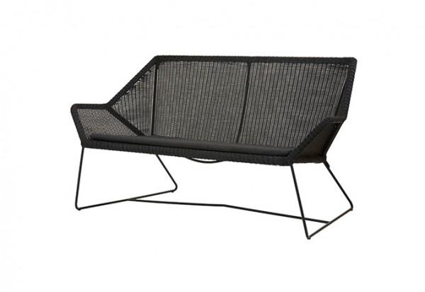 Cane-line Breeze 2 Sitzer Loungesofa, in schwarz und weiß erhältlich