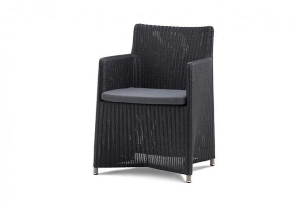 Cane-line Diamond Stuhl inkl. Sunbrella Kissen in grau
