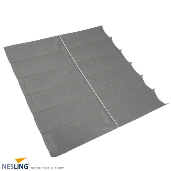 Nesling Faltsonnensegel, breit 2,0m lange 3,0m, Grau