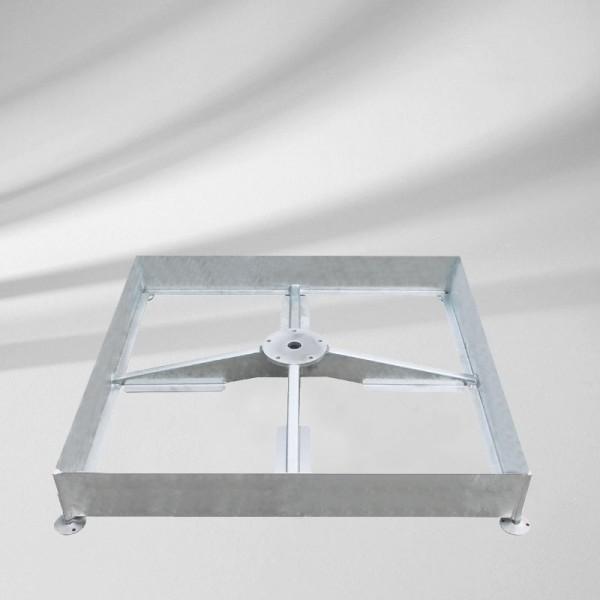 GLATZ Sonnenschirm Sockel M4 für 12 Platten 180 Kg, grau