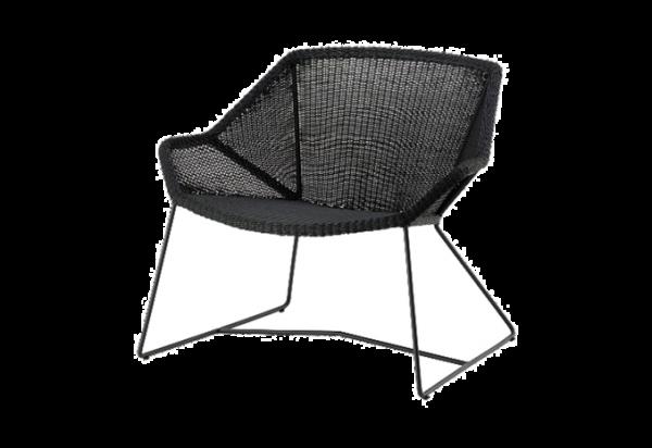 Cane-line Breeze Loungesessel, in verschiedenen Farben erhältlich schwarz Taupe