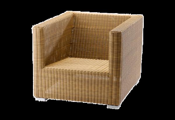 Cane-line Chester Lounge Sessel, in natur und schwarz erhältlich