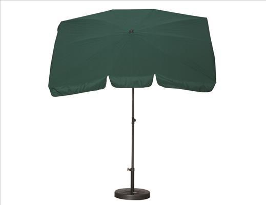 SIENA GARDEN Schirm 2,1x1,4 Poly grün Gest anthr/Pol grün UV+50