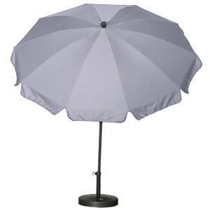 SIENA GARDEN Schirm 250/10t.Poly grau Gest anthr/Pol grau UV+50