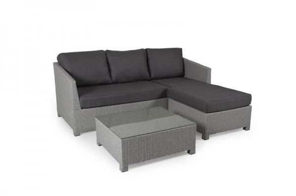 Brafab Conmay Sofa-Set grau inkl. Kissen
