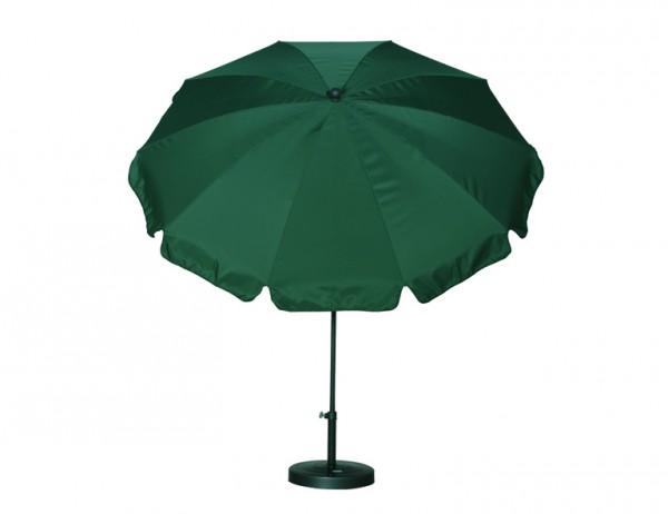 SIENA GARDEN Schirm 200/8t. Poly grün Gest anthr/Pol grün UV+50