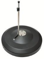 LIRO Schirmständer Maxi 150 Kg gaphit mit Multiflansch