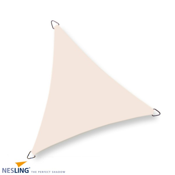 Nesling Dreieck 5,0 x 5,0 x 5,0m, Creme