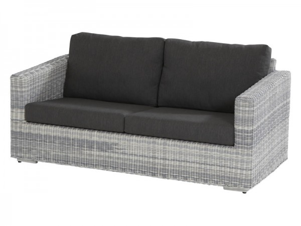 4 Seasons Outdoor Edge 2,5-Sitzer Sofa, Ice Wicker