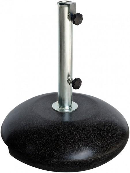 FIBRA Fiberglas-Schirmständer granit/nero