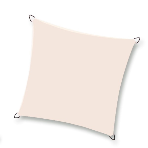 Nesling Quadrat 5,0 x 5,0 x 5,0 x 5,0m, Creme