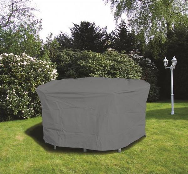Schutzhülle für runde Tische 125cm Polyester anthrazit