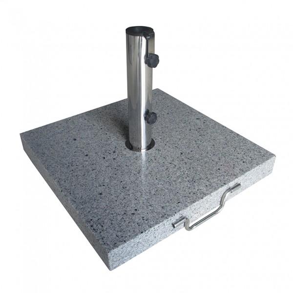 Schirmständer granit 40 kg. eckig mit Griff