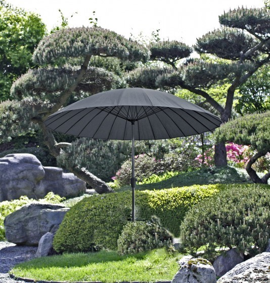 Sonnenschirm anthrazit
