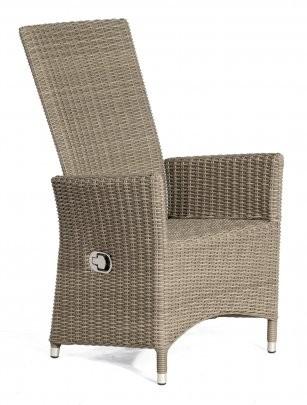 Sessel Solares Kunststoffgeflecht stone-grey SonnenPartner