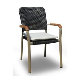KAJA Stuhl Finesse schwarz