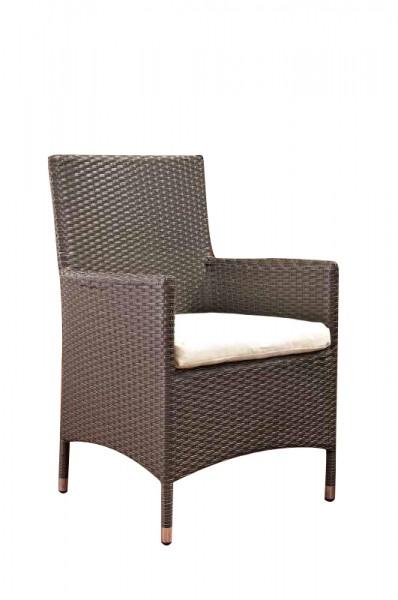 Julia Polyrattan Stuhl, in verschiedenen Farben erhältlich