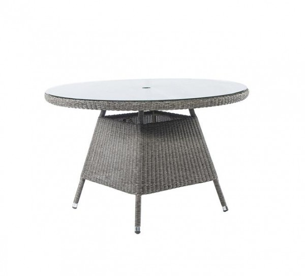 Stern Tischgestell 160x90 cm Aluminium Taupe