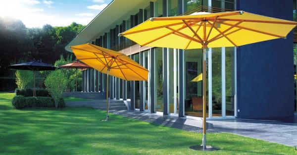 FISCHER-MÖBEL Woodline Sonnenschirm 350x250 cm