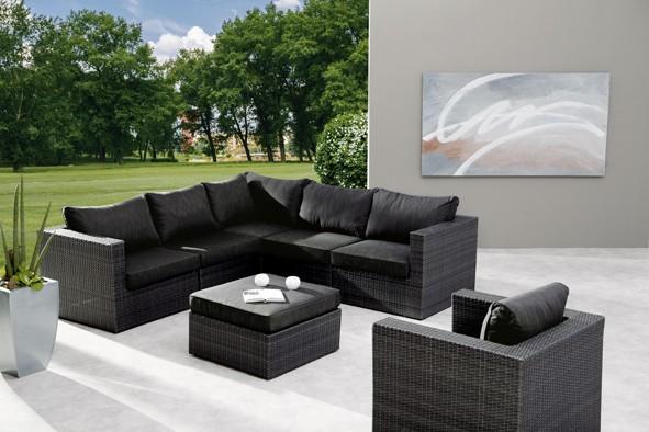 Best Freizeitmöbel Lounge-Set Aruba, 7-teilig
