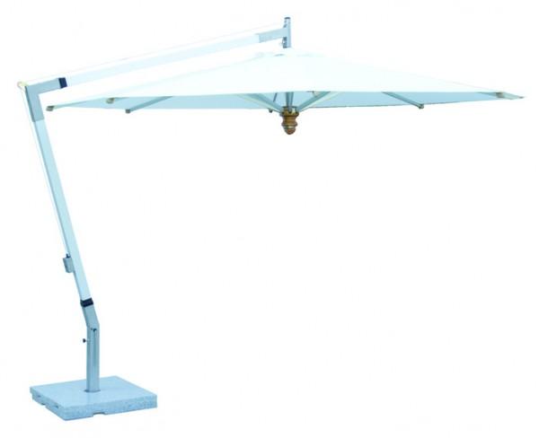 FISCHER-MÖBEL Woodline Freiarmschirm Pendulum, Aluminium